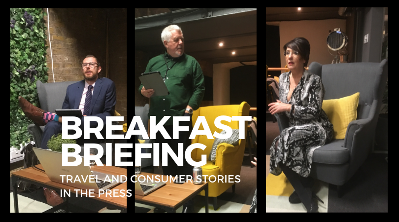 Travel and Consumer Breakfast Briefing Panel